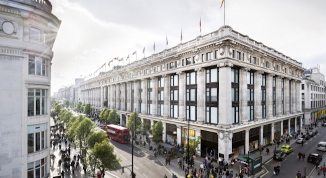 Selfridges Oxford Street & Duke Street. Photo Credit: Andrew Meredith