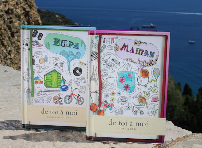 from you to me journals for maman et papa