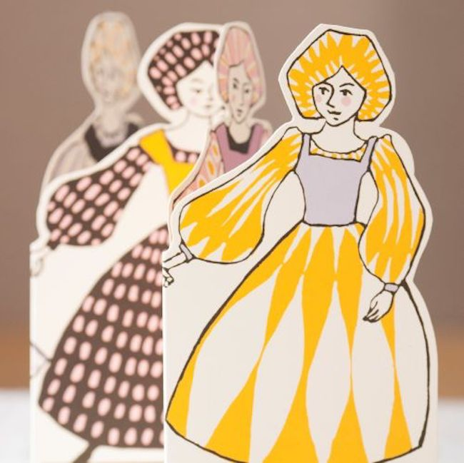 Cambridge Imprint: Concertina Card Range - Ballets Russes