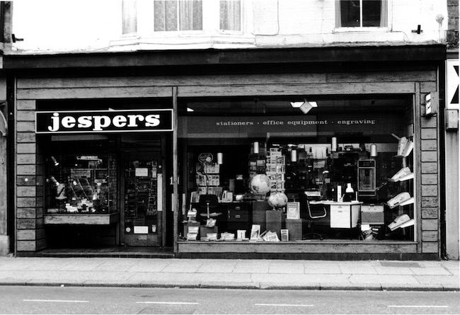 Jespers Oxford Street No.14 in the 1980s