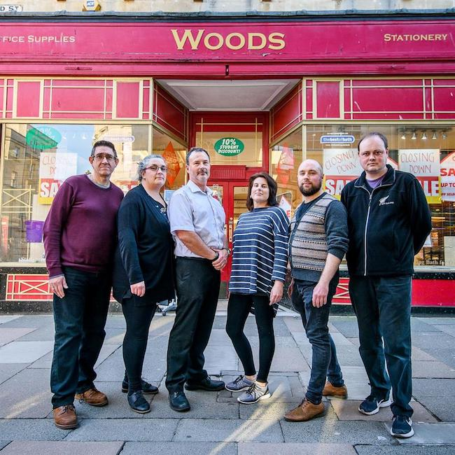 Owners and staff of Woods. Image:Artur Lesniak/ Reach plc