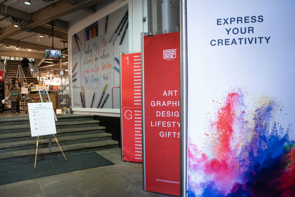 London Graphic Centre reopens in Covent Garden