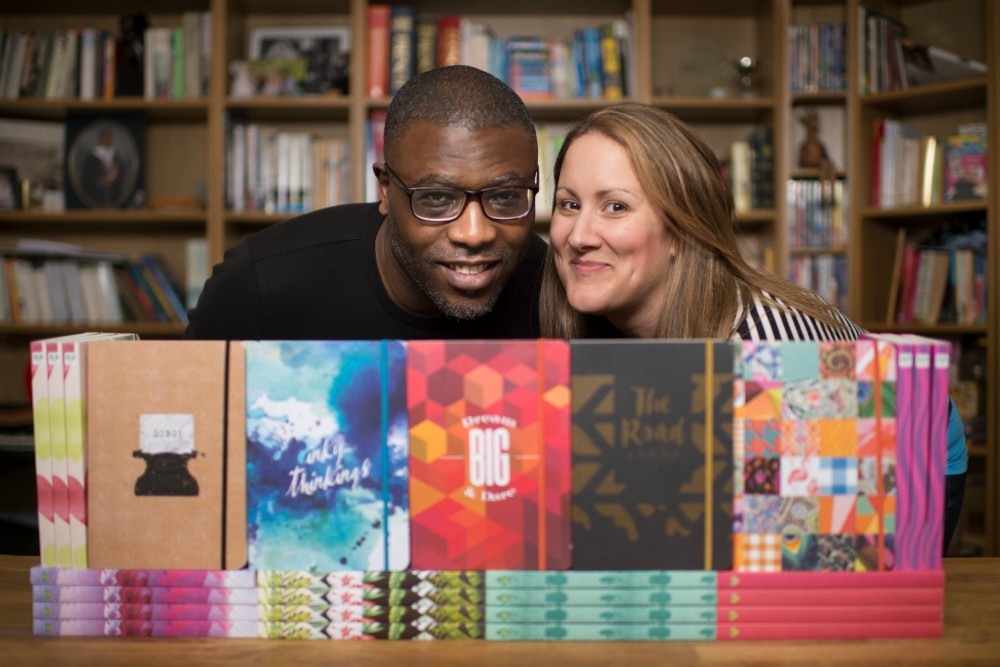 Consol and Kate Efomi, Founders of Notebook Love