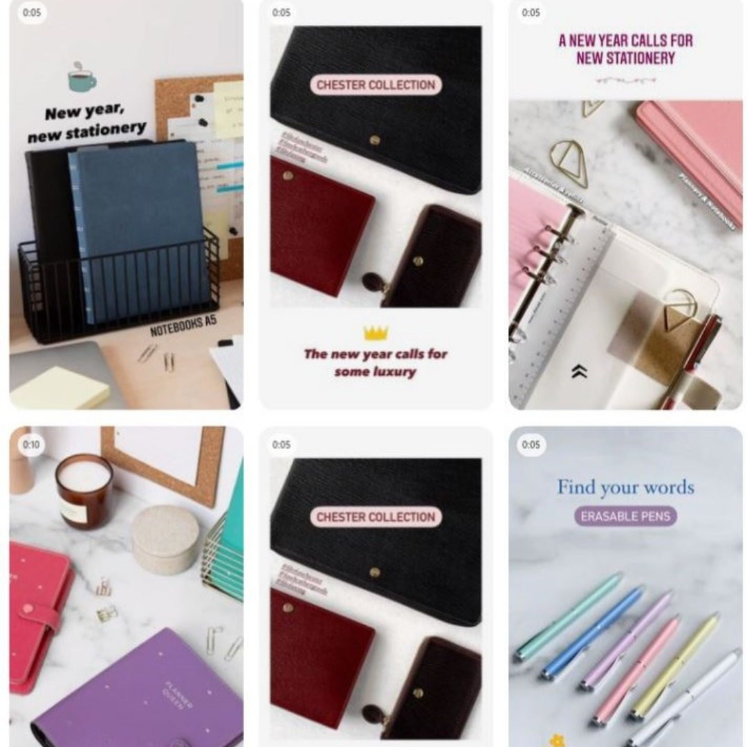 Stationery brands lead the way on social media